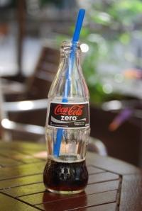 A refreshing Coke Zero a la Athens